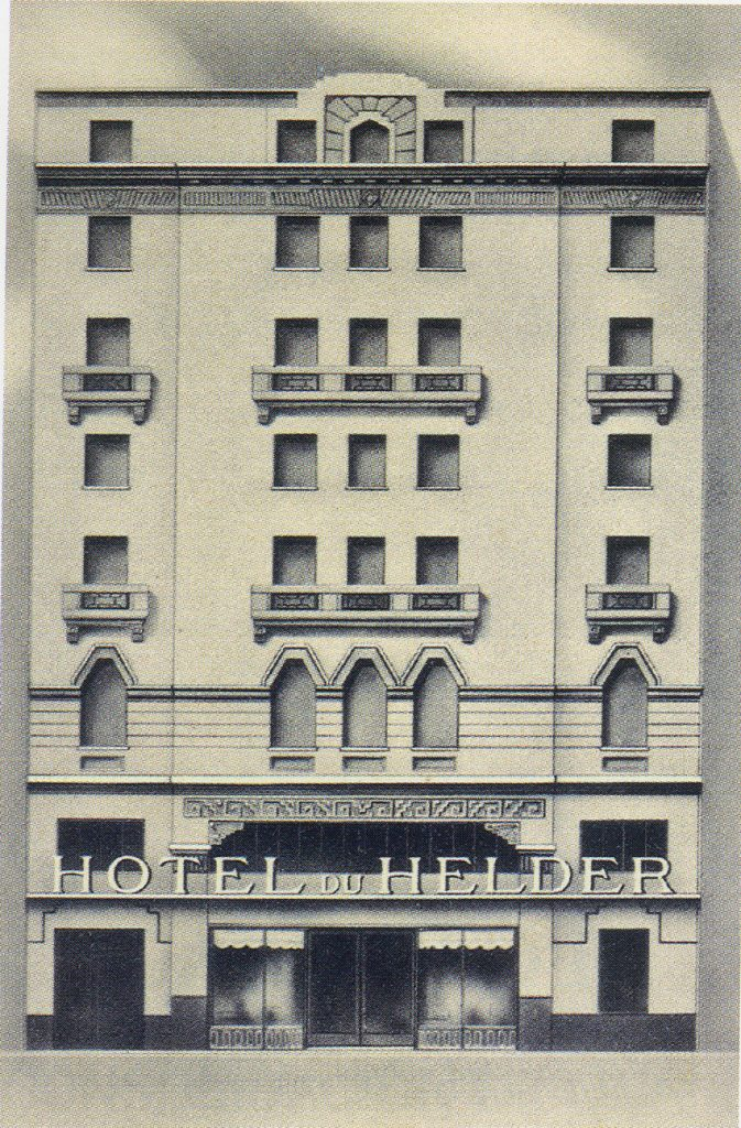 Hotel du Helder, Angel y Alfredo Guido. House of Ricardo Rojas.1927. Courtesy of CEDODAL, Buenos Aires.