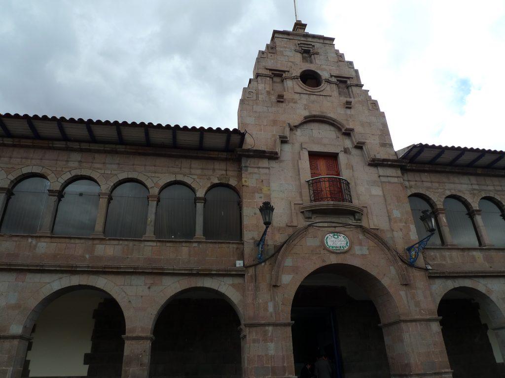 Neo-Inka Palacio Municipal. Photo: Silvia Spitta, 2014.