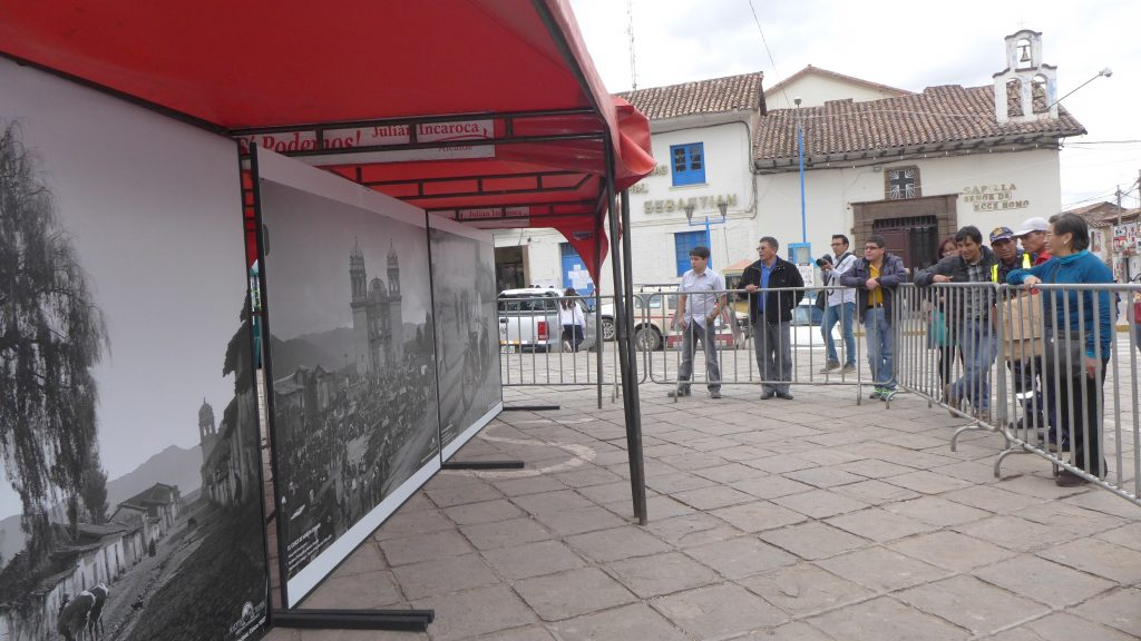 Barriers in San Sebastian. Photo: Silvia Spitta, 2014.